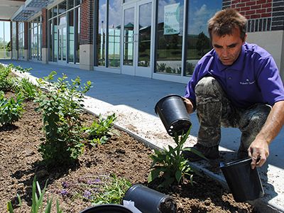 The Shoppes at Southport: Off-Beat Commercial Landscape Install