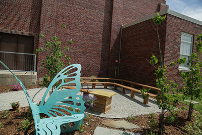 A Natural Outdoor Classroom: The Design and Installation at Harrison Elementary